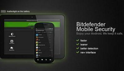 تحميل تطبيق الحماية من الفيروسات Bitdefender Mobile Security للاندرويد