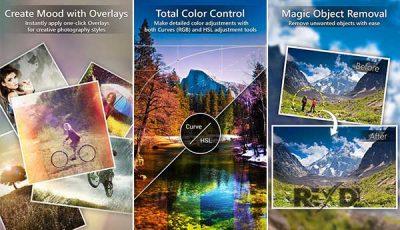 تحميل تطبيق التعديل وتحرير الصور PhotoDirector Full للاندرويد
