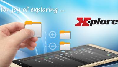 تحميل تطبيق ادارة الملفات X-plore File Manager للاندرويد