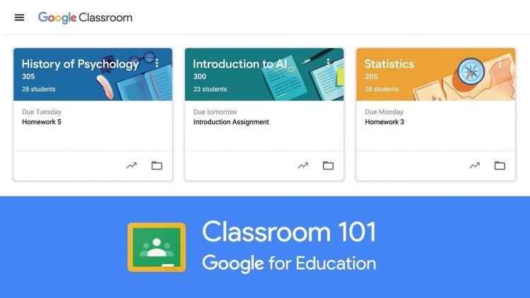 تطبيق جوجل كلاس روم Google Classroom للتعليم عن بعد