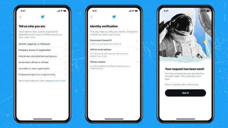 توثق حسابك في تويتر 2021