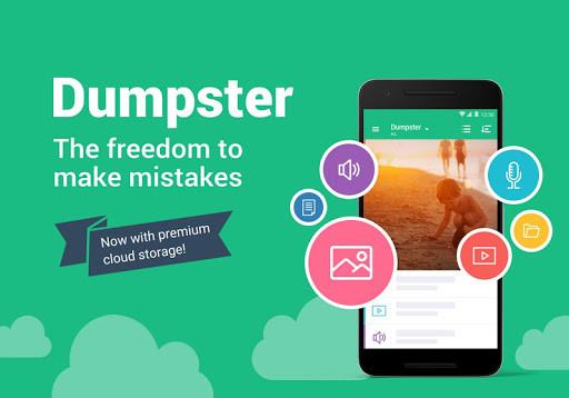 تطبيق سلة المهملات Dumpster Restaurar