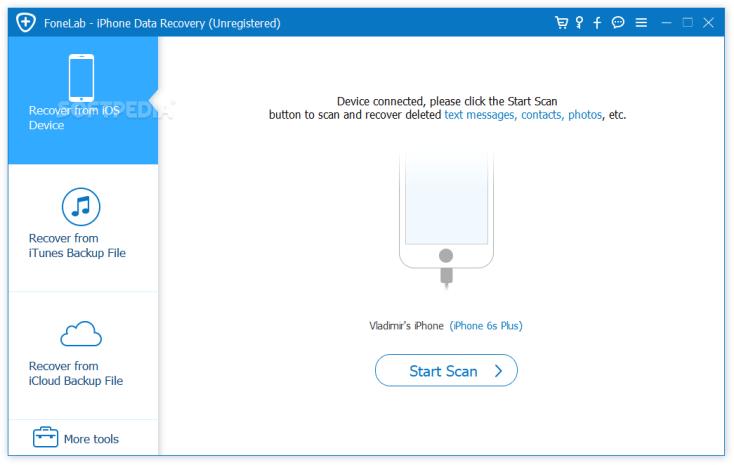 تطبيق Aiseesoft FoneLab